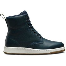 Dr. Martens Regal Lake Leather Blue Carpathian Women Fashion Boots Shoe 21860456 - $174.99