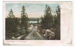 Uppgangen till Vaberget Karlsborg Sweden 1905c postcard - $5.94