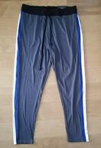 LoveLoveLove Women's Scrubs Drawstring Pants Sz 2XL gray Side Stripe - $11.98