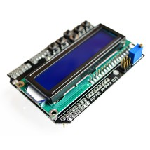 LCD Keypad Shield LCD1602 LCD 1602 Module Display For Arduino ATMEGA328 ... - $5.16