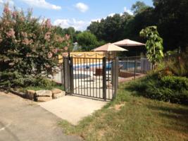"Bronze Aluminum Fence 4 Ft X 6ft Assembled Panel Pool Code ""Read Item Details."" - $58.95"