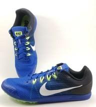 Nike Zoom Rival D 9 Track Shoes Mens Size 10.5 Black / Blue 806556-413 D... - $42.60