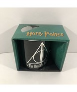 Harry Potter The Deathly Hallows Mug Warner Brothers Black 14oz Decorative  - $39.59