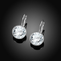 Baby Mini Bella Women Crystal Earrings Made with SWAROVSKI® Crystals - $10.77