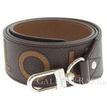 LOUIS VUITTON Shoulder Strap Taurillon Leather Marron J02391 Spain Authe... - $613.90