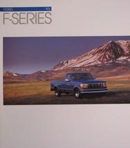 1993 Ford F Series Truck Brochure F-150 F-250 F-350 XL XLT SuperCab - $9.72