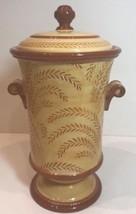Fitz & Floyd Classics Gallo de Oro Ceramic Cookie Jar w/ Lid Handcrafted... - $59.39