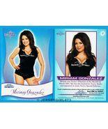 Miriam Gonzalez 2010 Bench Warmer Signature Series Card #8 - $2.00