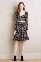 Nwt Anthropologie Black Saraid Dress By Hd In Paris S - $89.99