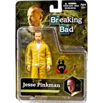 An item in the Toys & Hobbies category: Jesse Pinkman Breaking Bad 2014 Collectible Action Figure Mezco NIB Gas Mask NIP