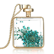 Variation #852 of Newest Dried Flower Collares Fashion Gold Color Pendant Collec - $17.76
