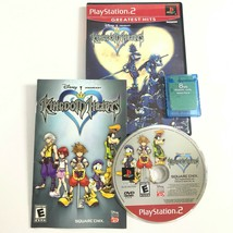 Kingdom Hearts - Greatest Hits (PlayStation 2, 2004) PS2 Complete + 8MB Memory  - $12.98