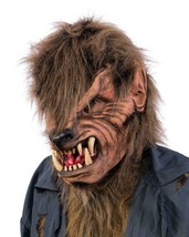 Werewolf Mask Creature Open Mouth Large Teeth Halloween Costume Party M1021 - $83.51 CAD