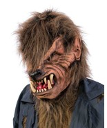 Werewolf Mask Creature Open Mouth Large Teeth Halloween Costume Party M1021 - $62.99