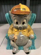 "Vintage 1975 Porky Pig Warner Bros 11"" Cookie Jar  - $36.75"