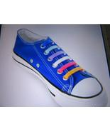 16pcs Cool Easy No Tie Shoelaces Elastic Silicone Flat Shoe Laces #9 - $6.93