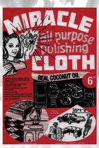 3 Miracle All Purpose Cleaning and Polishing Cloths  - $12.95