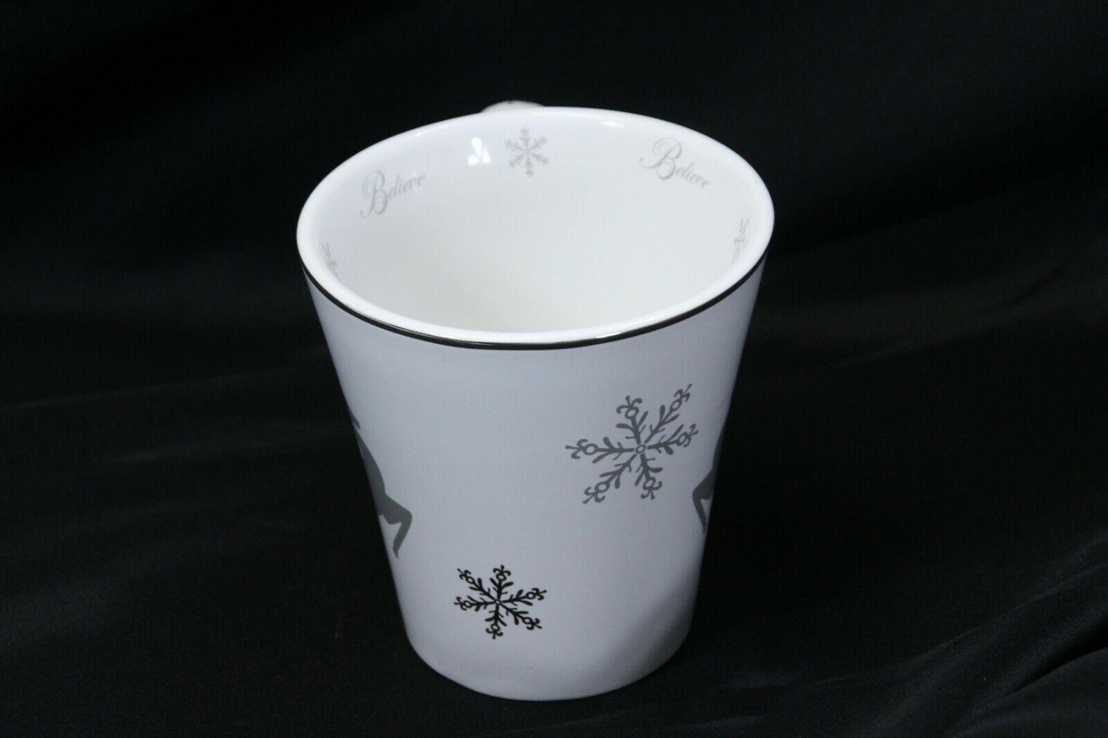 "St Nicholas Square Reindeer Believe Mug 4.5"" Tall image 2"