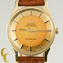 Omega Men's Pie-Pan Constellation Gold Cap Caliber 551 Automatic Watch P... - $5,346.00