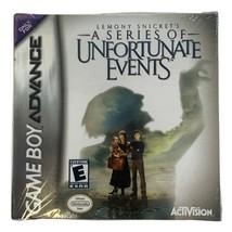 Series of Unfortunate Events Nintendo Game Boy Advanced  - $19.79