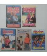 VTG HC Book Lot of 5 Nancy Drew River Heights series Novels Carolyn Keene  - $17.81