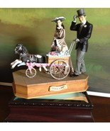 San Francisco Music Box Co - Rhett & Scarlett w/Baby Carriage Gone With ... - $150.00