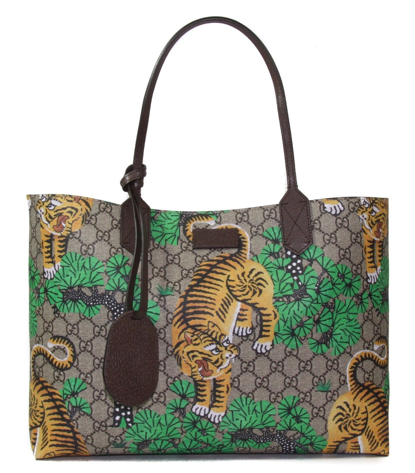 d756d626110f NWT GUCCI 412096 Bengal GG Supreme Tote Bag, and 50 similar items. 57