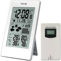 Taylor Precision Products 1735 Digital Weather Forecaster with Barometer... - $51.15