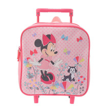 Disney Store Japan Minnie Mouse Trolley S Suitcase Travel Bag Pink - $64.35