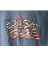 Vintage Harley Davidson Milwaukee, Wi Mens T-Shirt Sz XL - $14.84
