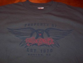 VINTAGE STYLE AEROSMITH Est. 1970 T-shirt  MEDIUM NEW Boston MA - $19.80