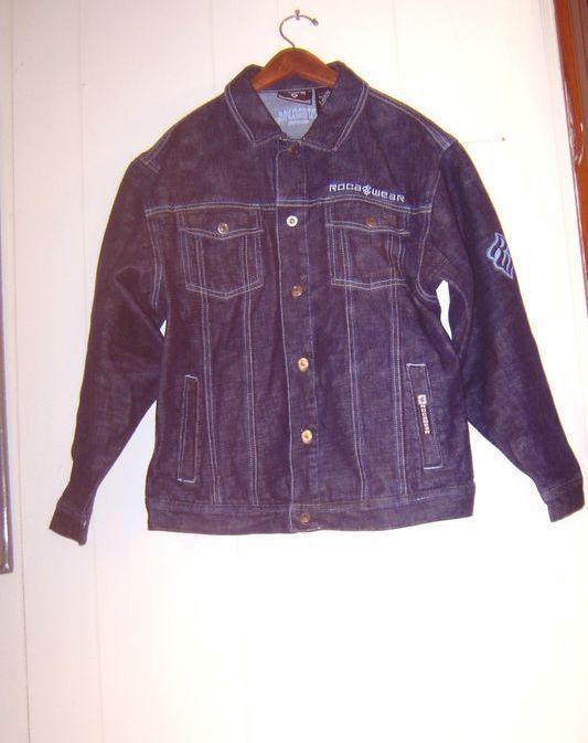 """""""Rocawear"""" Jean Jacket....Size L. 14/16 ...Cotton 100%"""