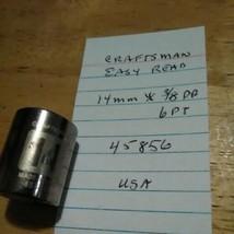"Craftsman  14 mm x 3/8"" Dr   Easy Read Socket 6Pt # 45845 Made in USA - $13.09 CAD"