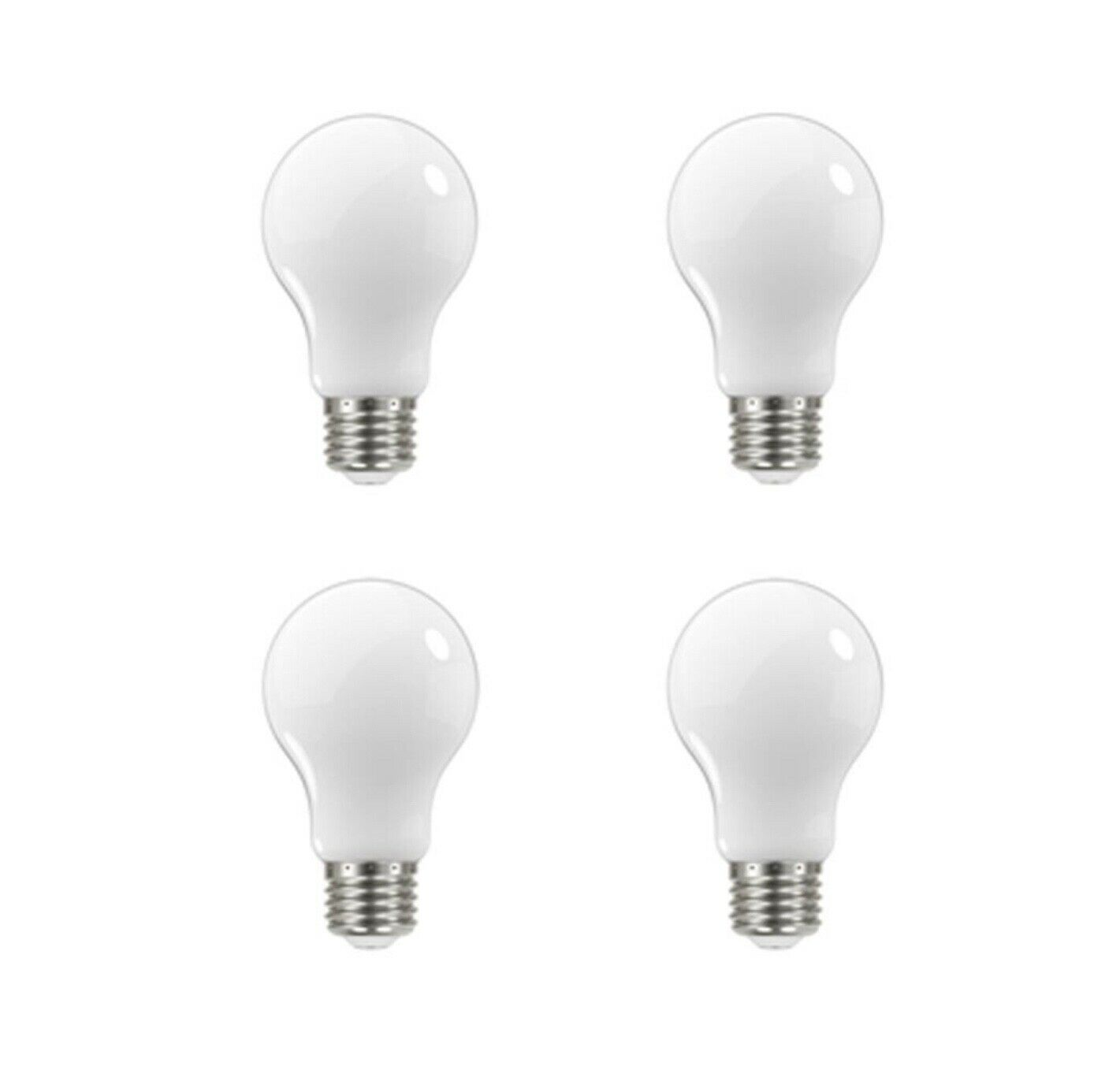 Primary image for EcoSmart 60-Watt A19 Dimmable Frosted Glass LED Light Bulb Daylight (4 Pack)