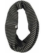 Vans Womens Rainie Circle Infinity Scarf OS OS Black/Grey - £12.50 GBP