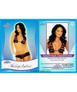 Martina Andrews 2010 Bench Warmer Signature Series Card #80 - $1.00