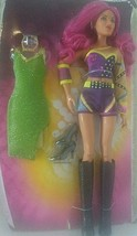 "SASHA BANKS WWE Mattel Superstar Fashions 12"" DollGreen Dress Open Toy - $17.81"
