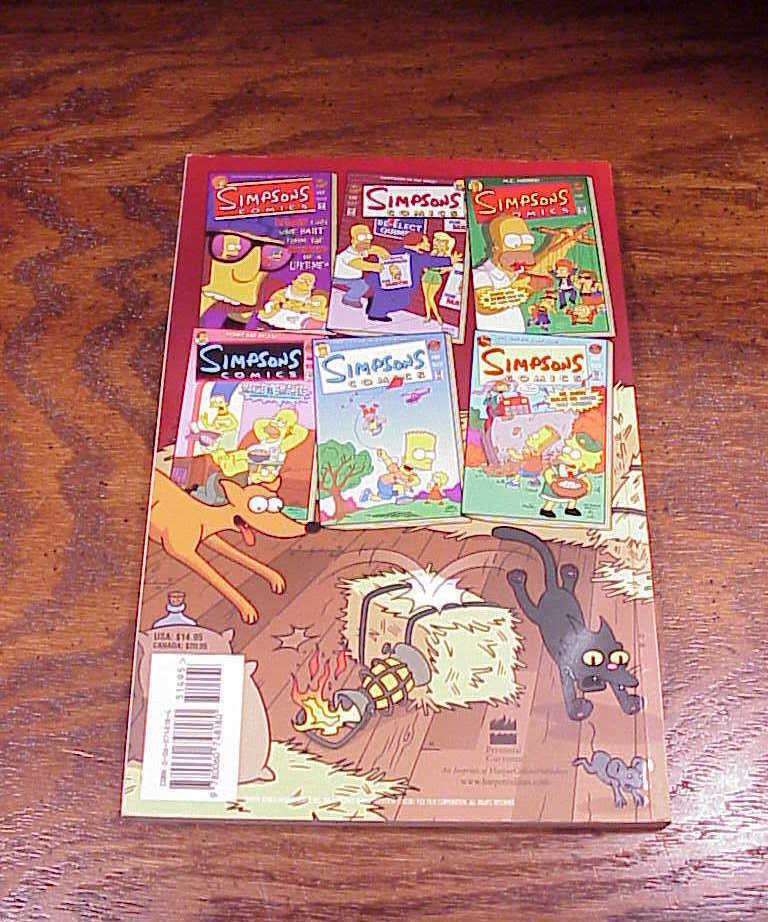 Simpsons Comics Barn Burner Comic Book, First Edition, 2004