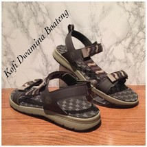 Timberland Men Governor Island Backstrap Sandals A1UVD Brown Synthetic. ... - $55.17