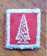 Old Red Tree Award Boy Scouts Girl Guides Patch - $6.95
