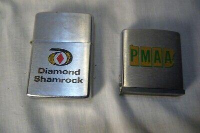 Zippo Lighter and Tape Diamond Shamrock PMAA