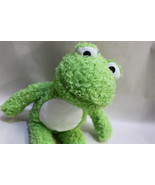 Funny Fuzzy Green little Froggie Cuddly Frog - $6.50