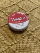 Vaseline Lip Therapy tin 0.6 oz - ROSY LIPS - $6.56