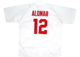 Roberto Alomar New York Cubans Baseball Jersey Button Down White Any Size image 4
