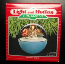 Hallmark Keepsake Christmas Ornament 1988 Skater's Waltz Magic Light Mov... - $13.99
