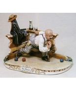CAPODIMONTE  Playing Bocce by Enzo Arzenton Italy Laurenz Classic Sculpture - $469.54