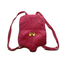Build A Bear Workshop Pink Backpack Bear Carrier BABW Plush Pet Baby EUC - $11.29