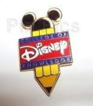 Disney Disney College of Knowledge (Pencil) pin/pins - $47.87