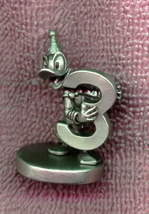 Disney - Donald Duck - Numbered 3 -  Great - Pewter  - Figurine - $38.69