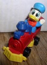 Disney Donald Duck Train engineer is made of Die Cast Metal - $19.99
